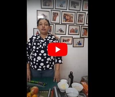 Pear Frangipane Tart by Chef Shalini Digvijay